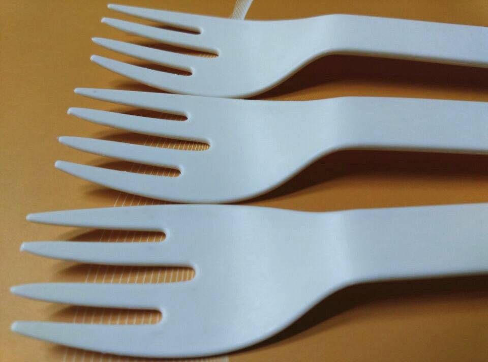 Eco-friendly Disposable Corn starch Forks