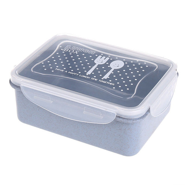 wheat straw bento box food storage containers