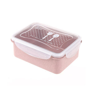 Reusable Wheat straw Bento Box- great for food storage