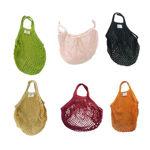 Reusable Eco-friendly Mesh Hanging Bag,  Great for produce shopping