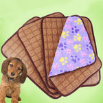 double-sided bamboo pet dog mat