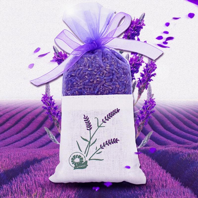 Pack Of Lavender Sachet Pure Natural Auto Mosquito Flies Repeller Repellent Wardrobe Rose Pure Color Organizer