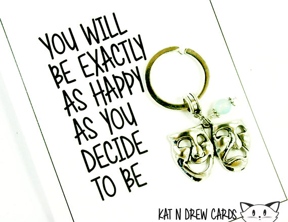 Happy As You Decide Card.  KEY013