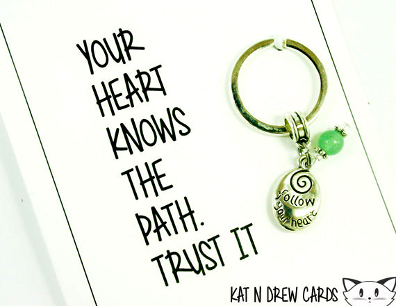 Your Heart Knows Card.  KEY017