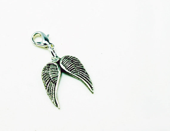 guardian angel wings charm