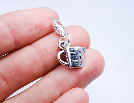 measuring cup charm for chefs or bakers