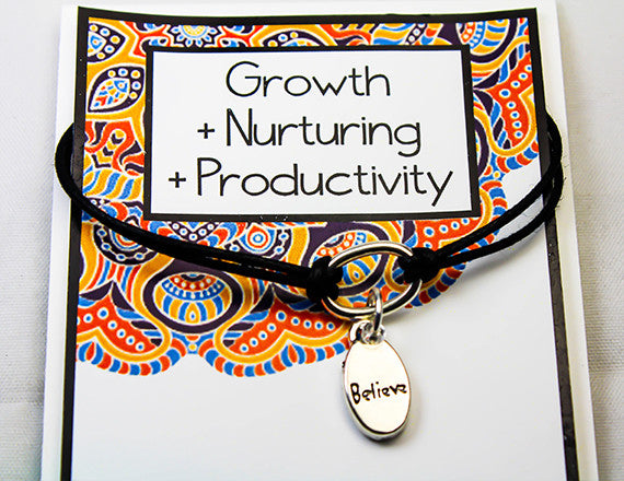 growth and nurturing believe charm