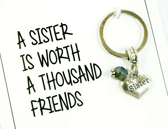 Sister Birthday Card. KEY001