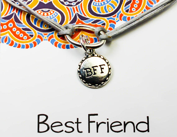 best friend forever charm bracelet