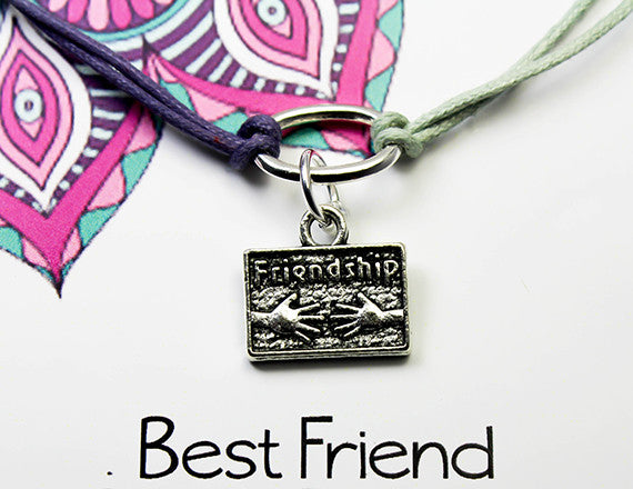 best friend charm bracelet for trust and respect