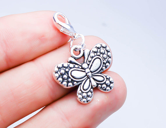 butterfly charm for charm bracelet