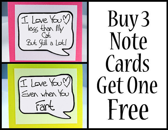 Beard Card for Him. Cute Love You Card for Men. NC008