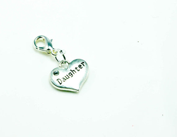 heart charm for daughters
