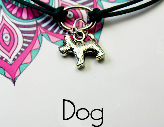 dog charm bracelet for cooperation