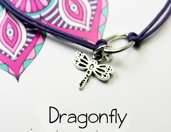 dragonfly charm gift for the joy in life