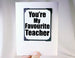 teacher thank you gift