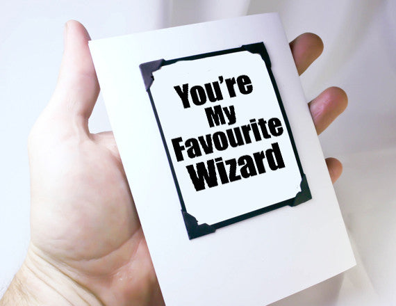 harry potter quote funny card and magnet