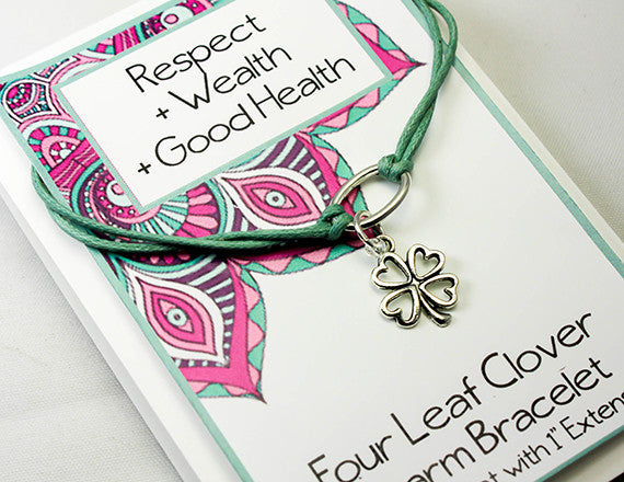 good health and wealth charm bracelet
