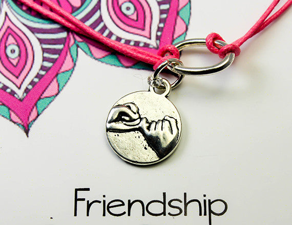friendship charm bracelet for companionship