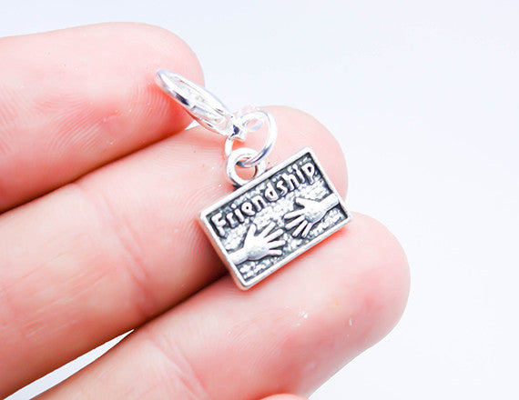 friendship charm for bracelet charm