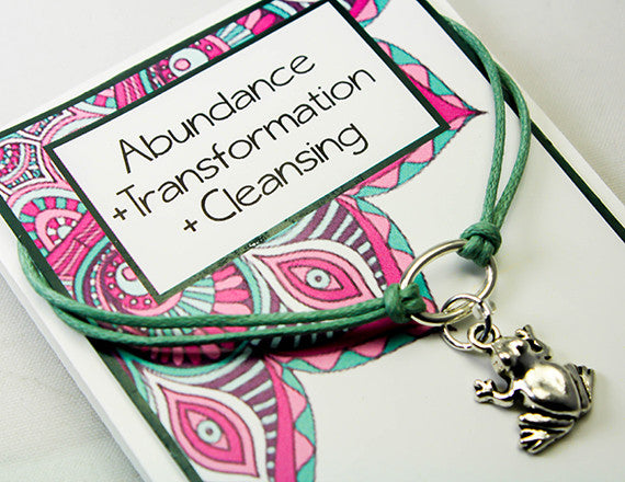 new transformations charm bracelet for growth