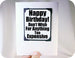 happy birthday cute magnet card gift bday gift