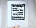 birthday experience card and magnet