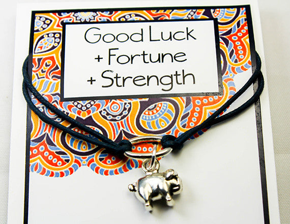 fortune and strength charm bracelet