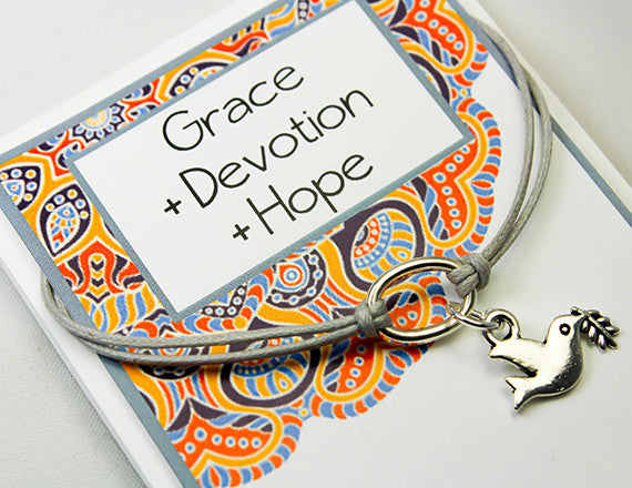 hope and devotion dove charm