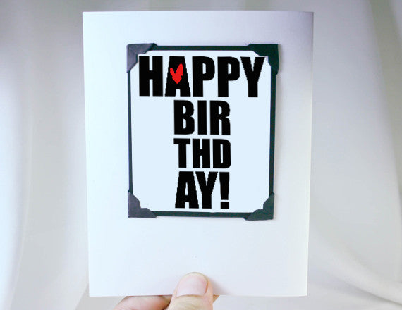 happy birthday cute magnet gift