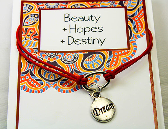 destiny and hope charm bracelet