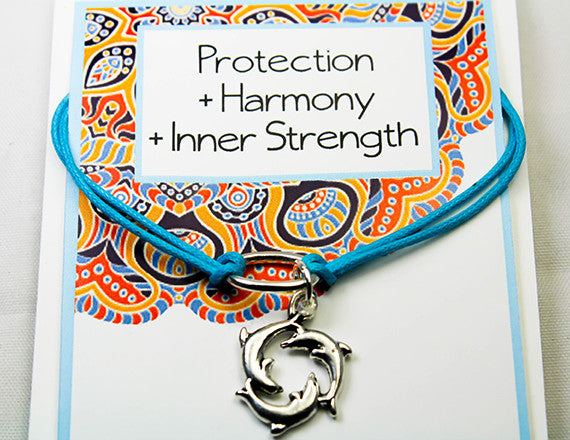 inner strength and harmony charm bracelet