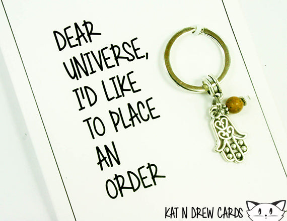 Dear Universe Card.  KEY014