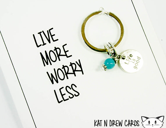 Live More Card.  KEY020