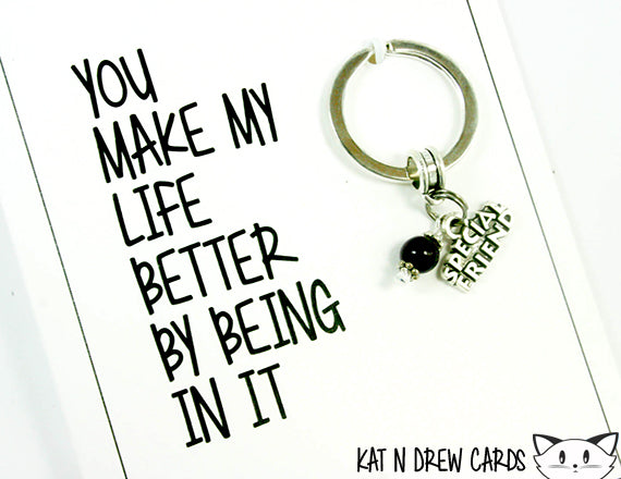 Make My Life Better Card.  KEY023