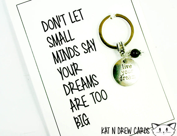 Don't Let Small Minds Cards.  KEY028