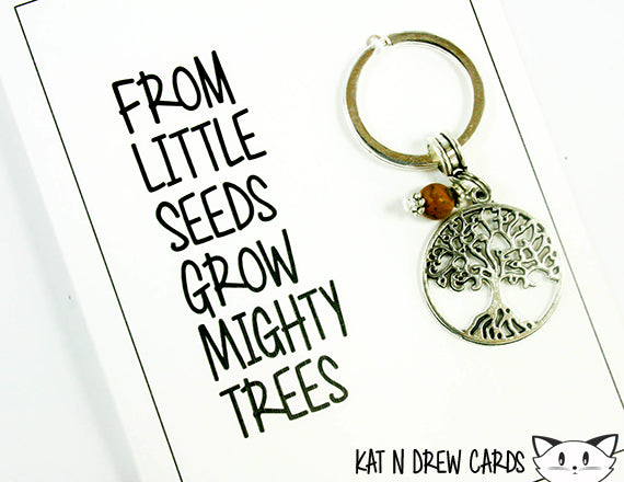 Mighty Trees Card.  KEY035