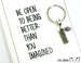 Open To Being Better Card.  KEY048