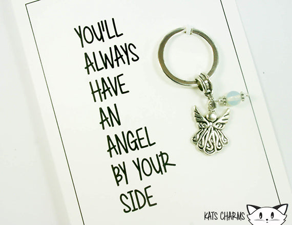 Angel By Your Side Card.  KEY049