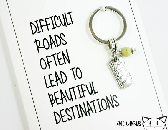 Difficult Roads Card.  KEY054