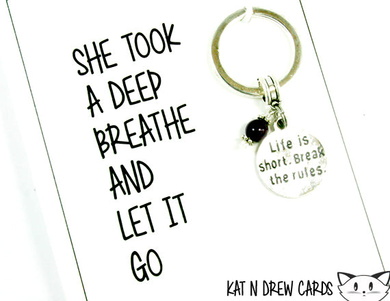 Let It Go Card.  KEY056