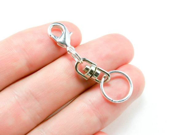 Perfume Charm. Silver Clip On Charm for Her. Perfume Bracelet Charm. SCC607