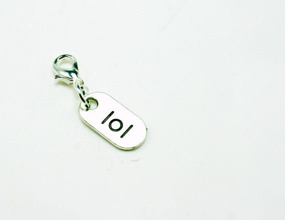 laugh charm lol clip on charm