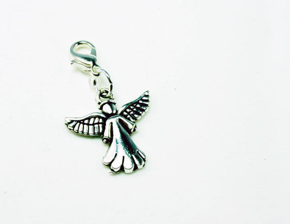 cute angel charm for charm bracelets