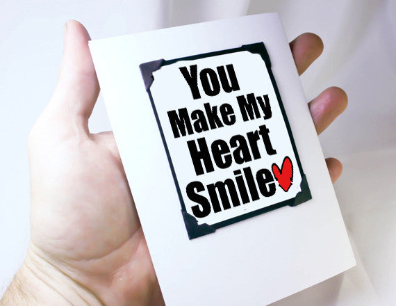 love you magnet greeting card