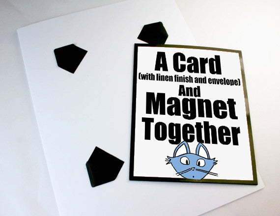 card and magnet gift