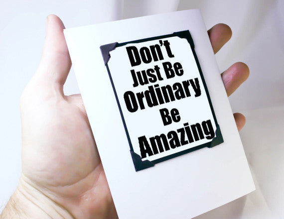 be amazing quote encouragement magnet