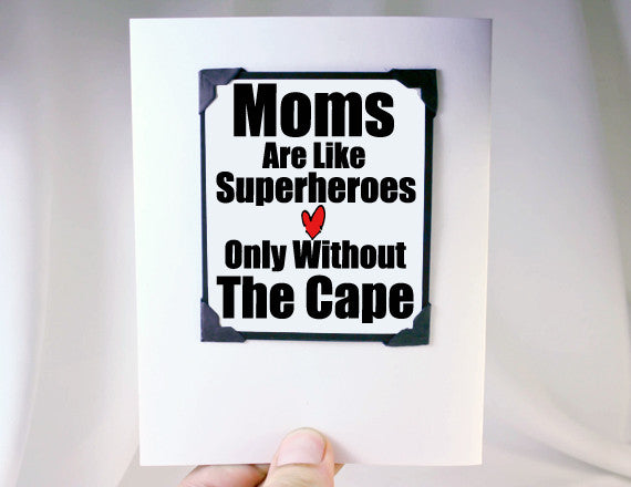 funny mothers day card love you mom card for mothers day