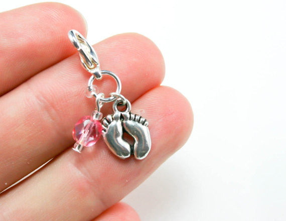 new baby charm. baby shower gift
