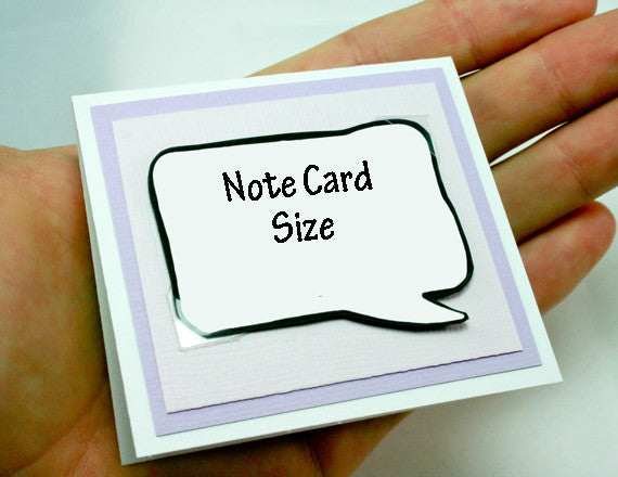 purple note card from kat n' drew cards
